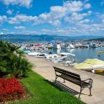 Prístav v zátoke Melska, Krk