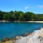 Pláž Jerte u Pinezici, Krk