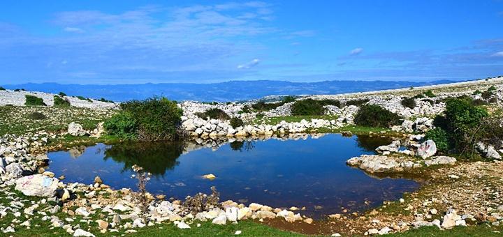 Jazierko na ostrove Krk