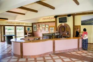 Interiér vinárstva Katunar, Krk