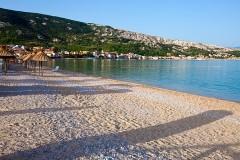Pláž Baška, Krk - Chorvátsko
