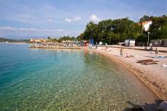 Pláže Njivice, Krk - Chorvátsko